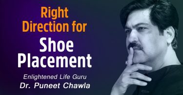 Right Placement For Shoe Direction